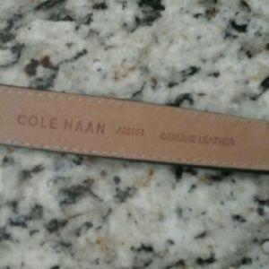 Accessories - Cole  haan   Gunsmoke   gray belt
